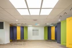 Panneaux acoustiques Caimi installé par entreprise JEFTIC à Marseille
