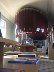 Création d'une sculpture en toile laquée pour un volume 3D à Marseille